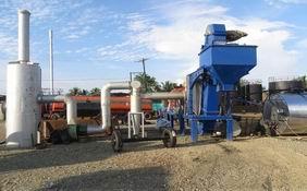 Planta de Mezcla Continua de Asfalto en Colombia-CAP40